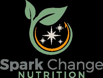 Spark Change Nutrition logo Logo
