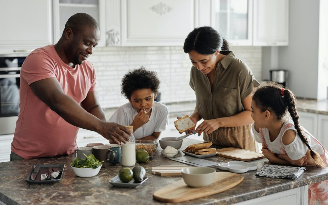 Cook and see what happens: how to make meals and memories