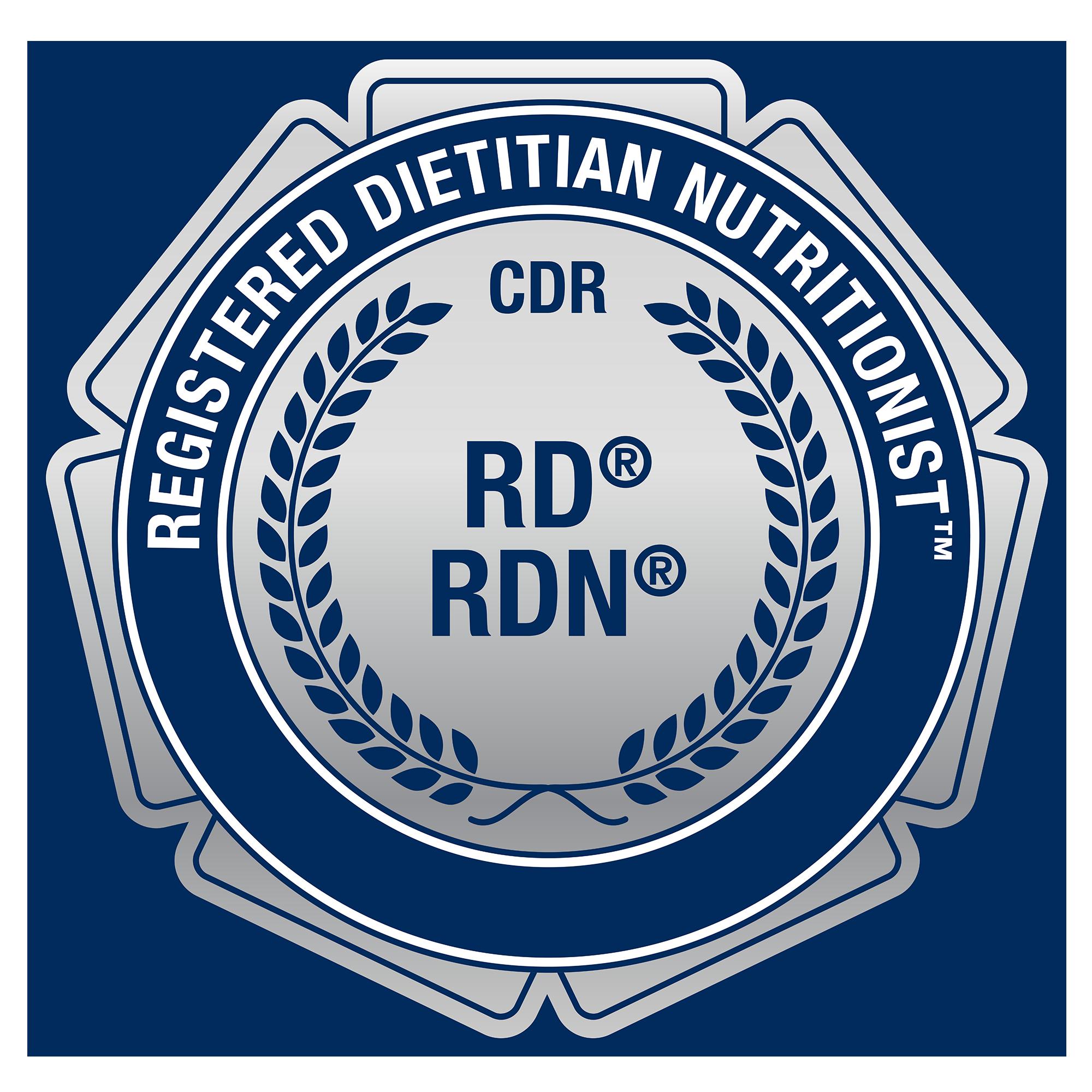 Registered Dietitian badge